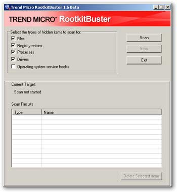 RootKit Buster Trend Micro